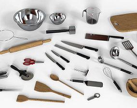 Kitchen Utensils Set 3D