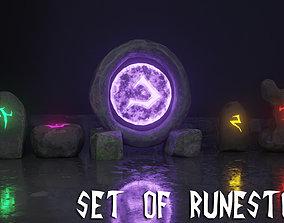 3D model Runestones Pack
