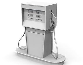 Vintage Gas Pump pump 3D printable model