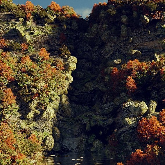 Fall Cliffs