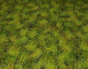 3D ground grass tile 15