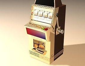 interior slot machine 3D model