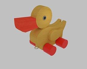 3D asset Duck Toy