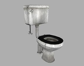 3D model Grimy Toilet