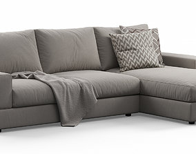 3D model Truman Corner Sofa By Doimo Salotti