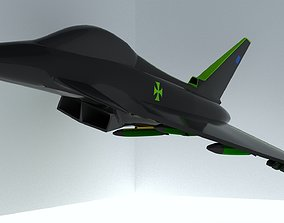 Ultimate Eurofighter Typhoon Jet 3D model