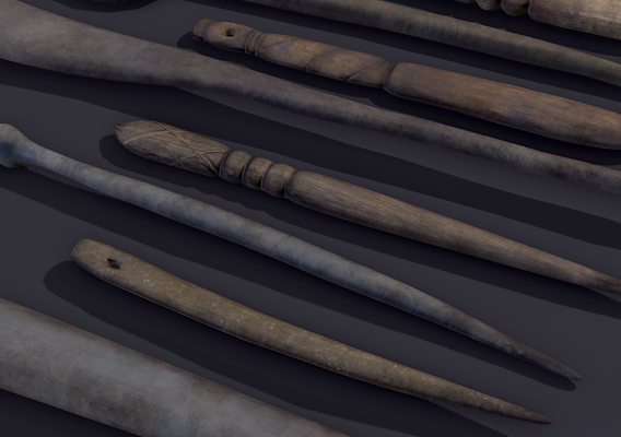 Medieval Needles and Trinkets