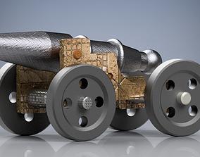 Vintage Cannon 3D printable model