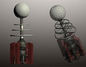Tesla Coil Tower 3D model