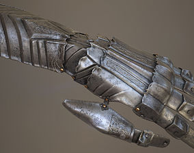 3D asset Ornamented Gauntlet