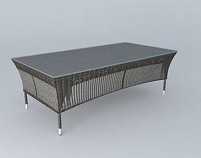 Coffee table LOMBOK houses the world 3D