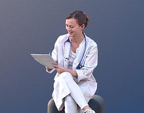 3D model Nadin 10465 - Sitting Doctor