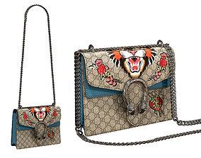 Gucci Dionysus GG Bag Classic Cat 3D model