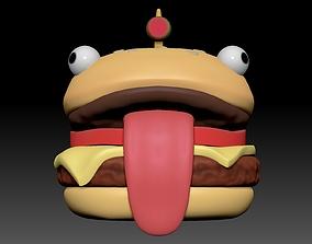 3D print model hamburger head helmet