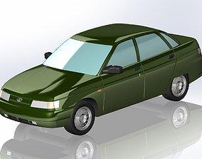 VAZ 2110 3D print model