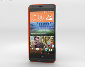 3D model HTC Desire 620G Saffron Gray