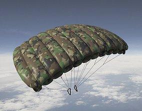 Parachute Pack 3D model