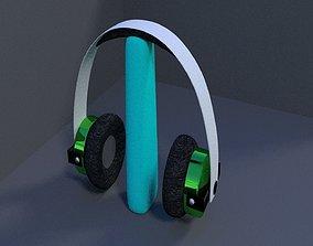 3D model bluetooth headphones frustrations
