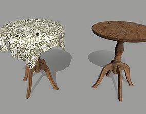 3D model VR / AR ready Table decoration