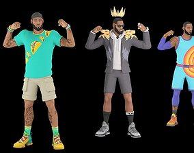 LeBron James 3D asset