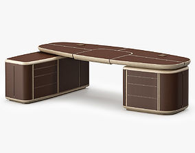 3D Giorgetti Tycoon Desk 2