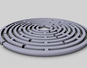 Maze - circular 3D