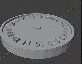 Warhammer 40k 0-20 Wound Tracker 3D print Set