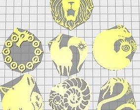 3D print model all 7 deadly sins Nanatsu no Taizai 1