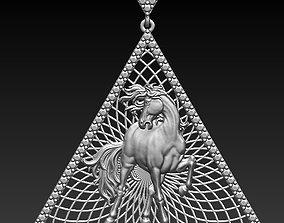 hours pendant 3D printable model animal
