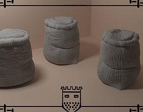3D printable model Medieval fantasy bag 1