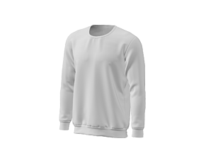 3D model Sweatshirt apparel