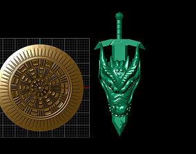 Dragon Sword 3D printable model