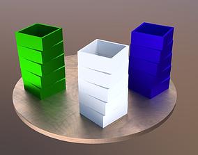 Modern vase for 3D printing