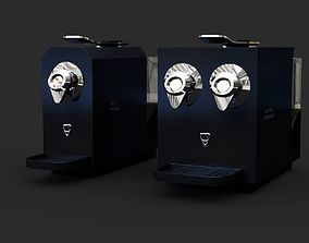 2in1 Coffee Maker Machines B1 - Single and 3D model 1