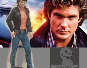 3D printable model Knight Rider Young Hoff by SPARX