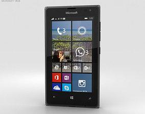 3D Microsoft Lumia 532 Black