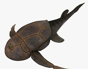 3D model Bothriolepis