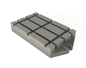 T-slot base plates for axial 3D model VR / AR ready