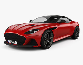 3D model coupe Aston Martin DBS Superleggera 2019