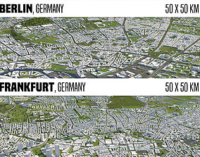 3D Germany 2 Cities