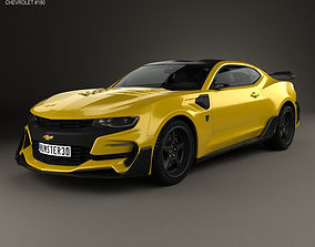 Chevrolet Camaro Bumblebee 2017 3D model muscle