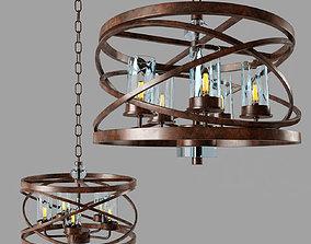 3D model Kalco Eternity 5 Light Pendant