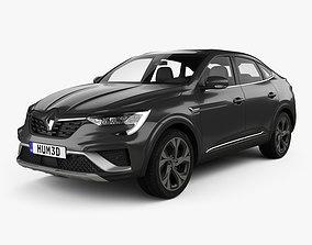 Renault Arkana RS-Line 2022 3D 2021