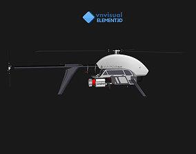 E3D - Vapor 55 Helicopter UAV Drone