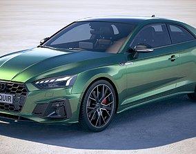Audi A5 Coupe S-Line 2020 3D model
