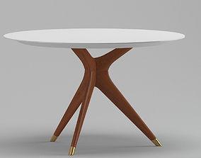 Matt Glassy Coffee Table 3D model