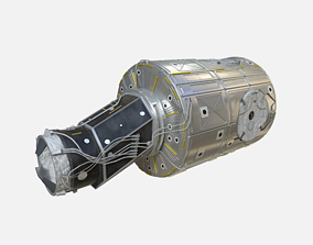 Node One Unity module on ISS 3D model