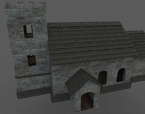 Church Building 3D asset