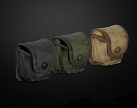 3D asset Granades pouch