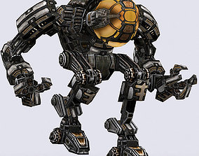3DRT - Mech robot engineer - 02 animated VR / AR ready